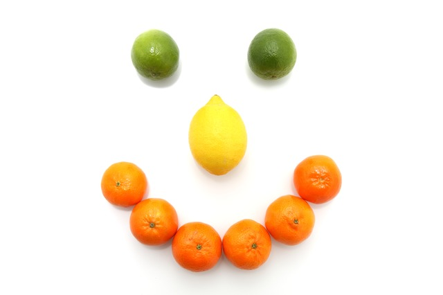 fruit-happy-face